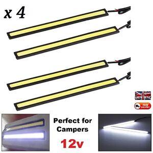 4-x-12V-Motorhome-Camper-and-Boat-Neon-White-Lights-Self-Build-12-Volt-Lights