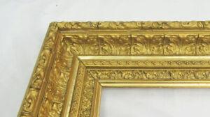 "ANTIQUE FITS 10"" X 15"" GOLD GILT ORNATE WOOD FRAME FINE ART VICTORIAN"