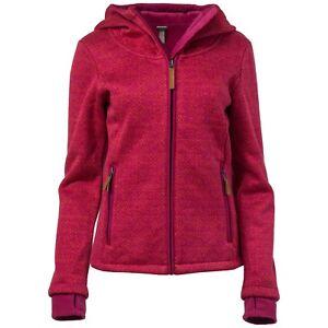 Details zu Bench. Damen Sweatjacke Sweatshirt Jacke Overhead Kapuze Daumenlöcher Webmuster