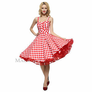 858a8eb85232 Maggie Tang 50s VTG Hepburn Rockabilly Polka Dots Pinup Party Swing ...