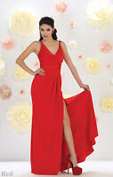 Special Occasion Prom Evening Formal Dress Maid Of Honor Stretchy Sweet 16 Gowns