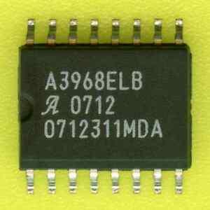 30-Allegro-A3968-DUAL-FULL-BRIDGE-PWM-MOTOR-DRIVER-30V-650mA-SOIC-16-SMD-SMT