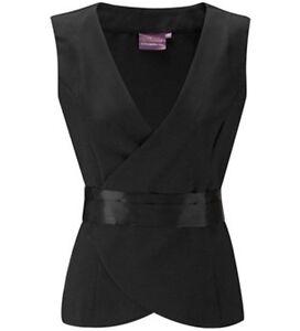 Salon waistcoat tunic beauty therapist nail spa massage for Uniform nail spa