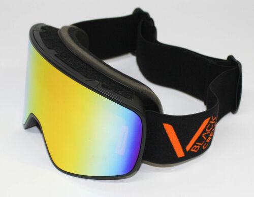 Black Crevice Unisex Erwachsene Skibrille Schladming Schwarz//Orange L 58-61 cm