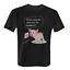 Was ist denn mit Dir passiert Herren T-Shirt Fun Shirt Schwein Steckdose lustig