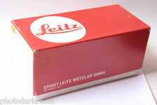 """Leica Red Box Only - Approx. 4x4x8"""" Inside Dimension EMPTY BOX ONLY - USED A004"""