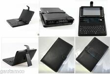 "USB KEYBOARD FOR ASUS GOOGLE NEXUS 7 7""TAB TABLET LEATHER CARRY CASE STAND COVER"