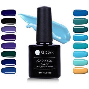 7-5ml-UR-SUGAR-Nail-Art-Soak-Off-UV-Gel-Polish-Blue-Black-Series-Led-Gel-Varnish