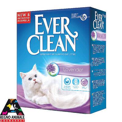 Sabbia Gatti Ever Clean Fomato Conveniente Lavanda Agglomerante 6 Litri Lettiera | eBay