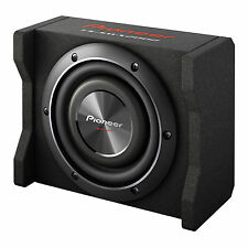 """Pioneer 8"""" 600W 4-Ohm Shallow Loaded Carpeted Car Sub Enclosure 