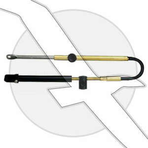 USED 8ft Teleflex Mercury//Mercruiser 600A Thottle Shift//Control Cable CC17908
