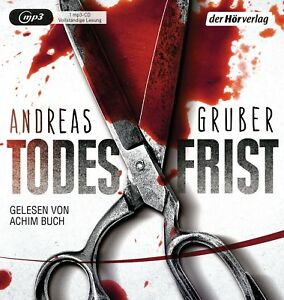 ACHIM-BUCH-ANDREAS-GRUBER-TODESFRIST-2-MP3-CD-NEW