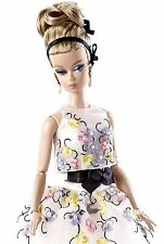 Barbie 2016 Collection Classic Cocktail Dress Silkstone Doll BRAND NEW WITH BOX