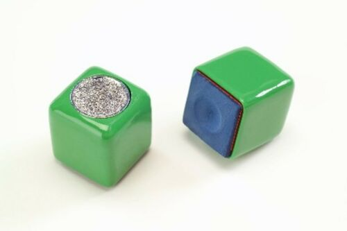 Tip Scuffer Green Chalk Holder New Chalker 1 Piece Masters Chalk Included