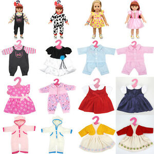 Diy Doll Clothes Dress 18 Inch Barbie Doll Baby Kids Gift Skirt