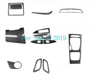Real Carbon Fiber Interior Kit Decor Panel Cover Trim For Buick Regal 2018 2020 Ebay