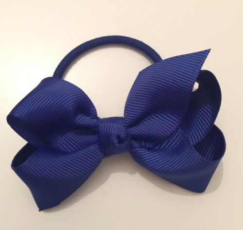 Colourful Hairband Knot Bows on Bobbles//Hairbands 23 Solid Colours