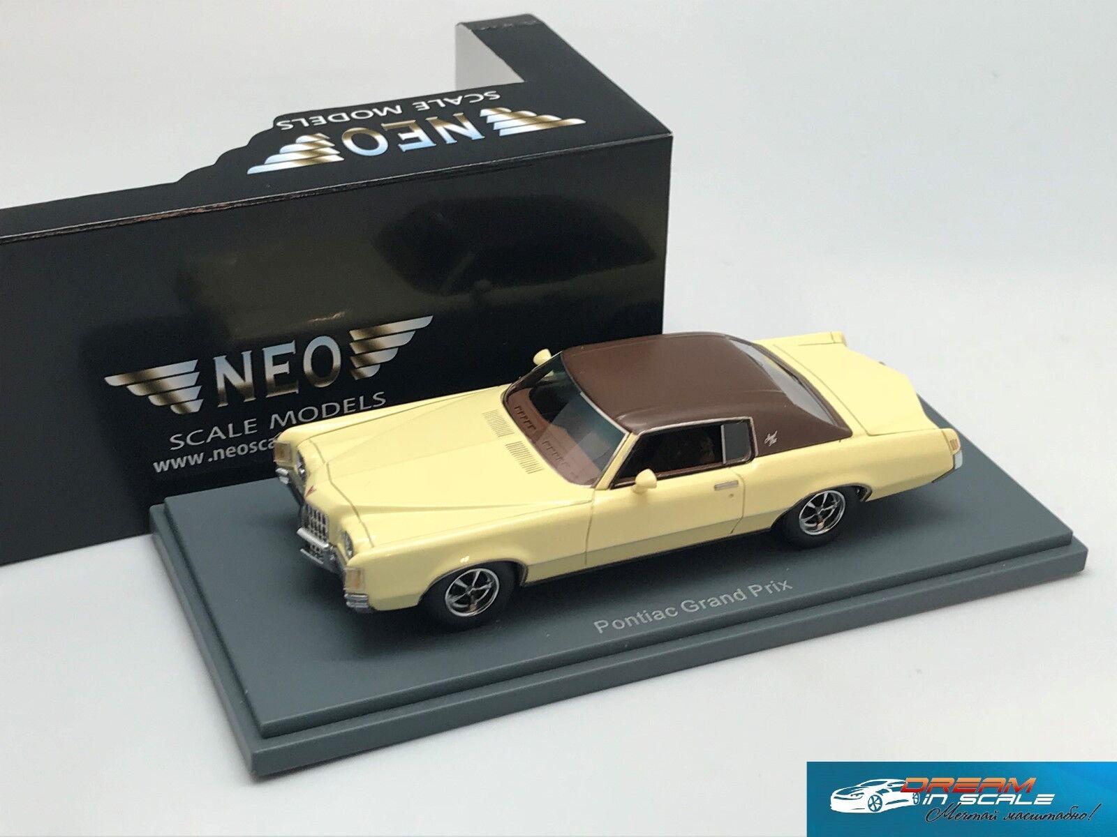 Pontiac Grand Prix 2d hardtop coupe 1972 NEO44116 1 43