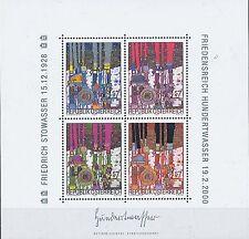 Österreich Block 015 ** MNH Kunst Friedensreich Hundertwasser