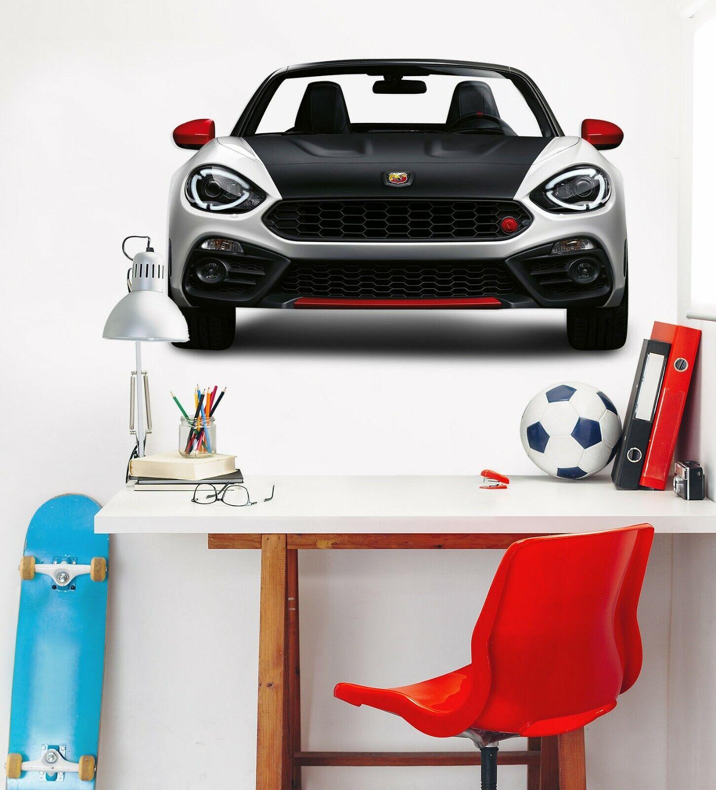 3D Racing Car I184 Car Wallpaper Mural Poster Transport Wall Stickers Angelia