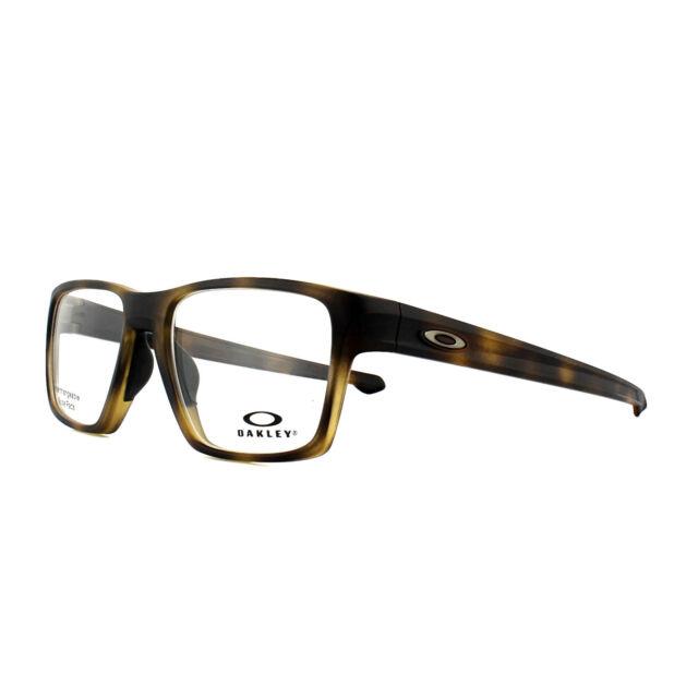 a22f2f5c38d28 Oakley Glasses Frames Litebeam OX8140-04 Matt Brown Tortoise 55mm Mens
