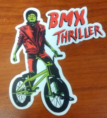 Old School BMX GT//Haro//Hutch//Dyno Michael Jackson BMX Thriller Sticker