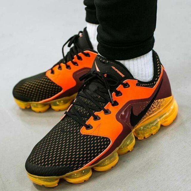 hot sale online 4f193 b16c6 Nike Air Vapormax Running Shoes Total Crimson Black AH9046-800 Men's NEW