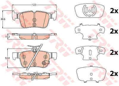 5 YEAR WARRANTY GENUINE BRAND NEW Mintex Rear Brake Pad Set MDB3799