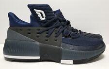 new arrival 33590 7f63f Adidas Dame 3 Men Basketball Shoes Sz 10.5 Navy Blue Black BB8271 Damian  Lillard