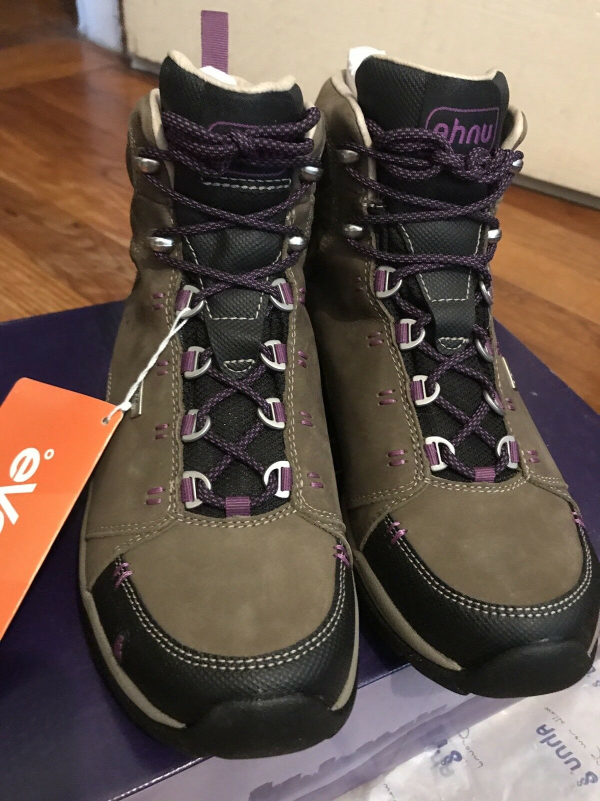 Nuevas botas para excursionismo Ahnu montara Impermeable 6.5 (EE. UU.)