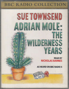 Sue-Townsend-Adrian-Mole-Wilderness-Years-2-Cassette-Audio-Book-Abridged