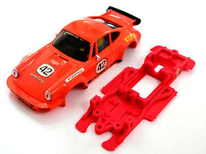 Chasis-911-Carrera-compatible-SCX-Scalextric-ES-lineal-High-Performance-Mustang