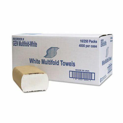 GEN White Multi-Fold Paper Towels, 4,008 Towels (GENMULTIFOLDWH)