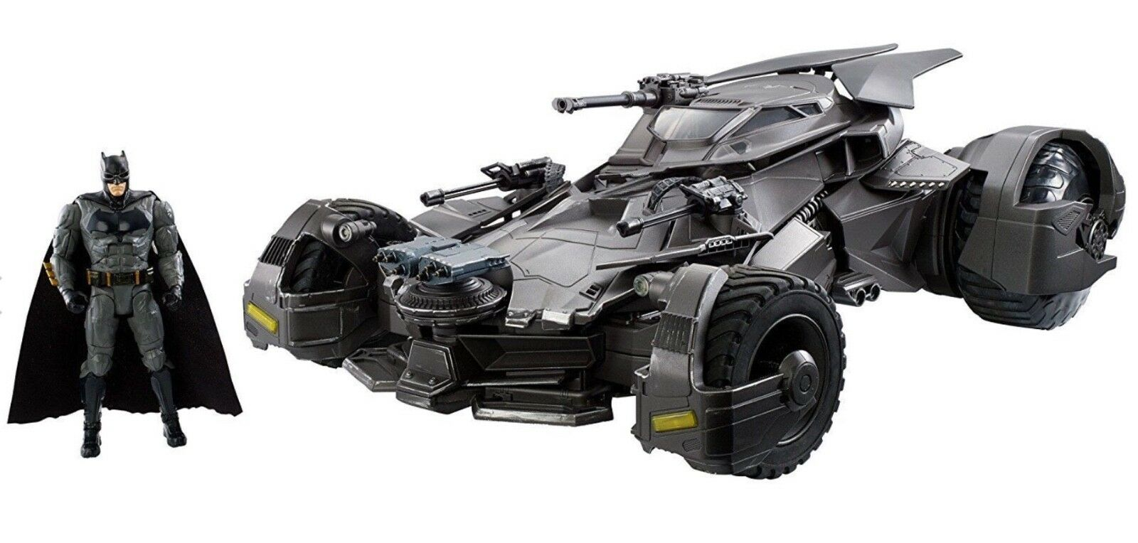 NEW JUSTICE LEAGUE FTD33 ULTIMATE RC (RADIO CONTROLLED) BATMOBILE WITH FIGURE