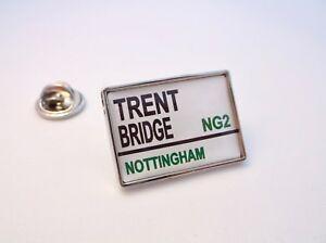 Nottinghamshire County Rue Panneau De Signalisation Insigne Broche Badge Cadeau