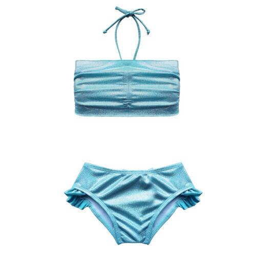 Toddlers Girls Mermaid Outfits Bikini Swimwear Pool Swimsuits Beachwear Costumes