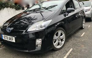 2011 TOYOTA PRIUS 1.8 VVTi T Spirit CVT AUTO HYBRID BLACK FULL SERVICE HISTORY