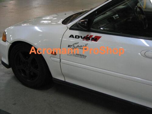 "Details about  /2x 12/"" 30.5cm ADVAN Sport Decal Sticker avs yokohama vinyl racing sentra WRX JDM"