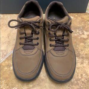 men's rockport shoe size 105 narrow world tour leather