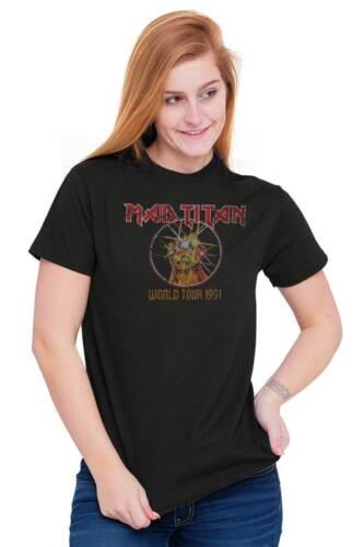 Comic Movie méchant World Tour Drôle Nerd Méchant Cadeau Classique T Shirt Tee