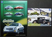 ST. VINCENT 2003 Cadillac Autos Cars Oldtimer 5839-42 + Bl.614 ** MNH