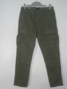 a2d5a728d7 J. CREW STYLE J5021 Straight-fit stretch cargo pant KHAKI GREEN SIZE ...