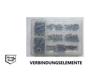 Linsenkopfschrauben Sortiment/Set ISO 7380 M6 mit TORX 200 Teile EDELSTAHL A2