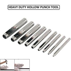 Perforadora-Herramienta-Acero-Cinturon-de-Piel-Sacador-de-Agujero-Papel-Plastico