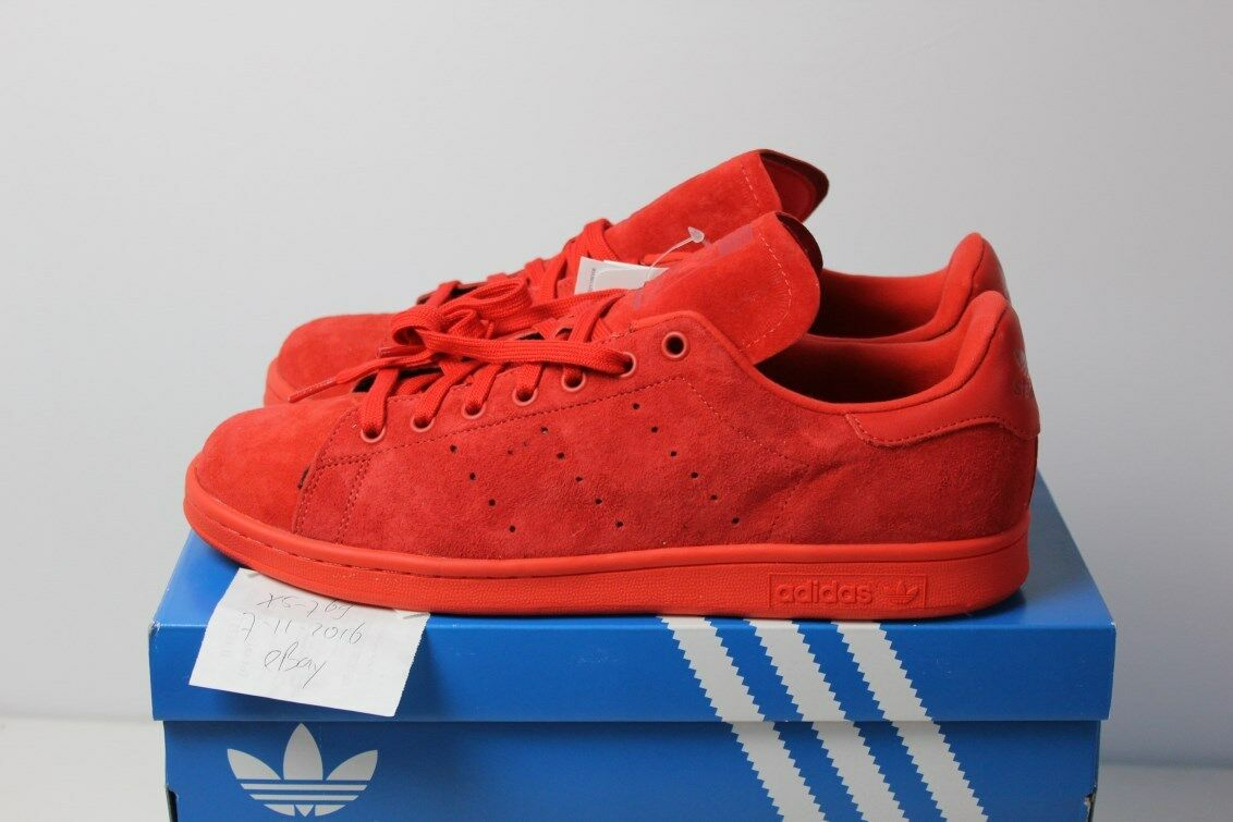 Adidas Originals Stan Smith Low Suede RED DS S75109 NMD PK Flux camo 46 12 47 13