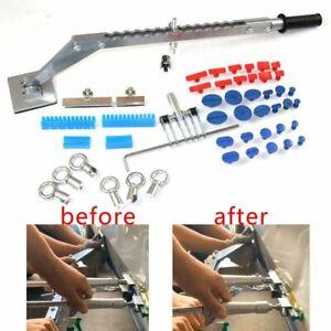 Paintless Dent Repair Puller Kit Removal Slide Hammer Glue Sticks Reverse Tabs
