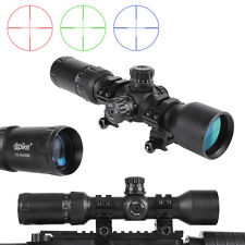 Tactical Locking 1.5-5x40BE Etched Glass Reticle  Turret Rifle Scope for Hunting