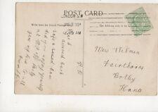 Miss L Wilman Fairthorne Botley Hampshire 1908 495b