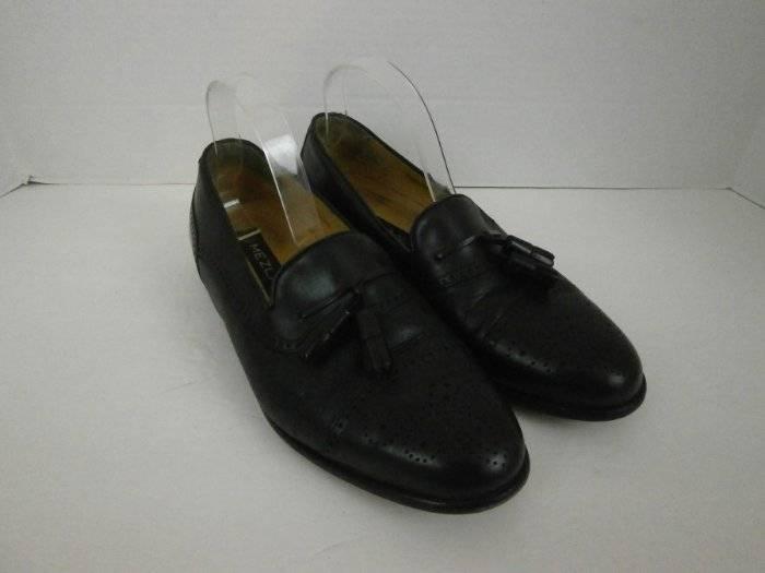 garanzia di credito Mezlan Uomo 8 Wide Captoe Brogue nero Leather Tassel Made Made Made in Spain  migliore marca