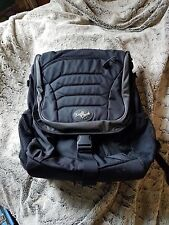 eagle creek backpack that is black and very gently used